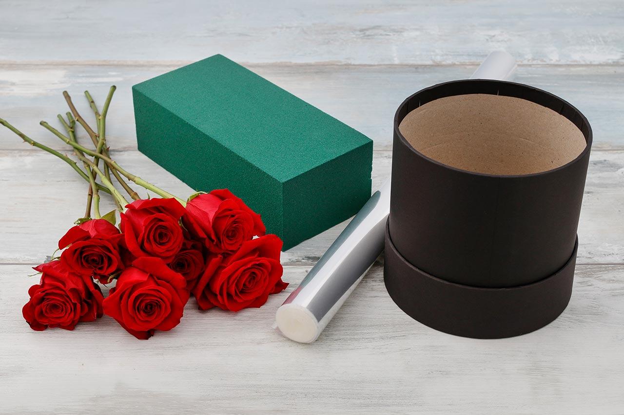 Flowerbox selber machen, DIY Geschenk