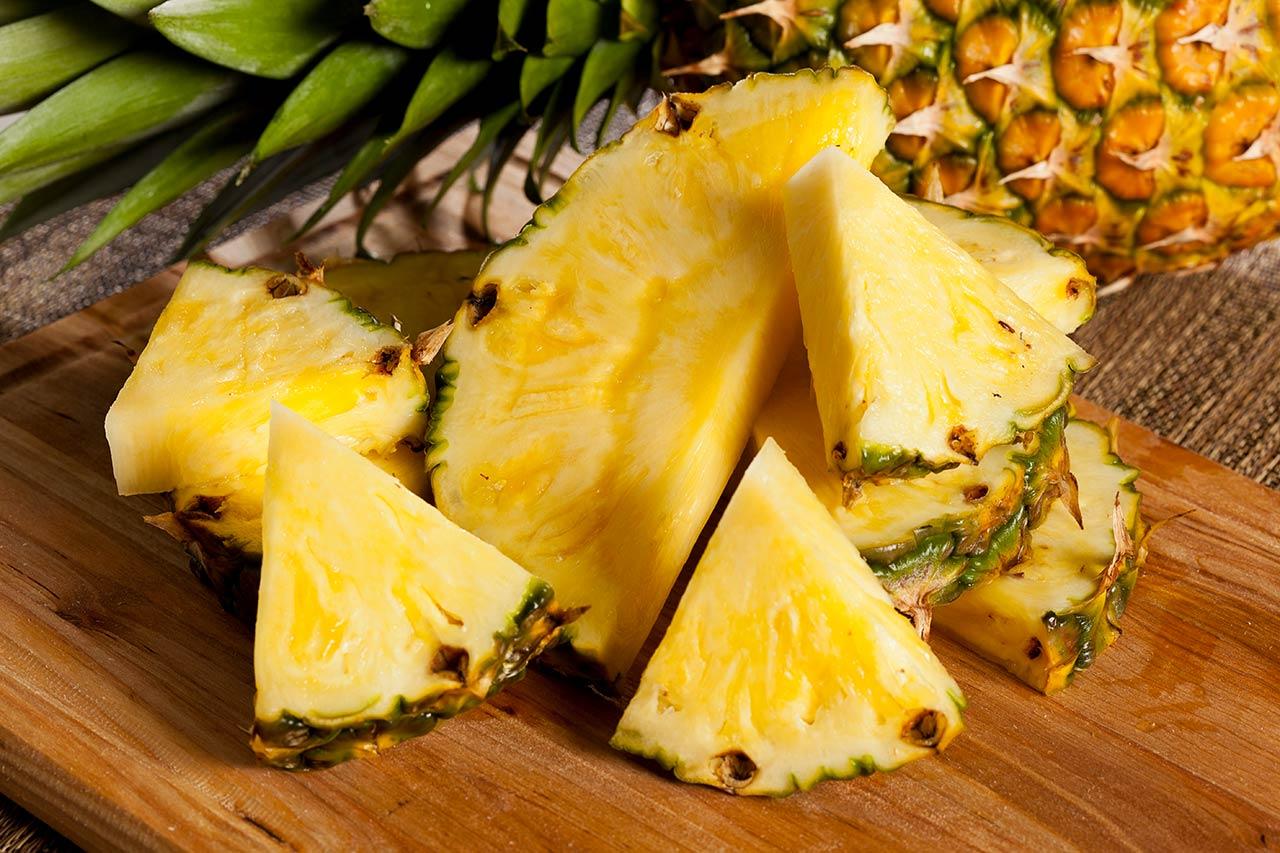 Ananas Säure neutralisieren