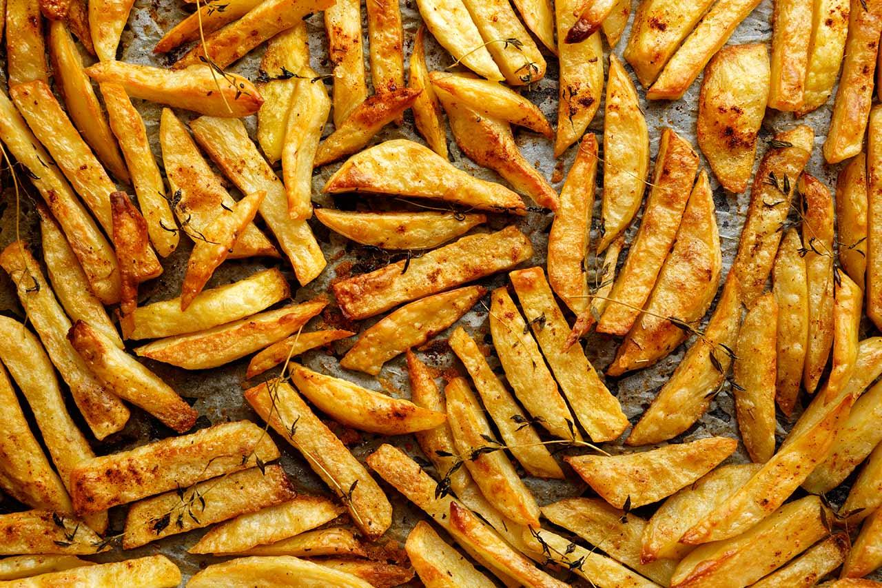 Pommes selber machen Ofen