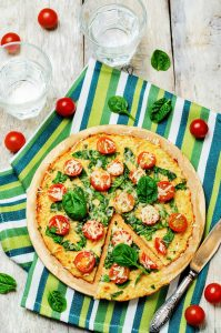 Blumenkohl Pizza, Low Carb Pizza