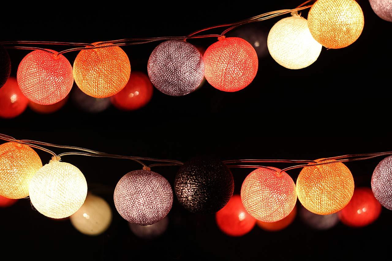 Gartenparty Beleuchtung