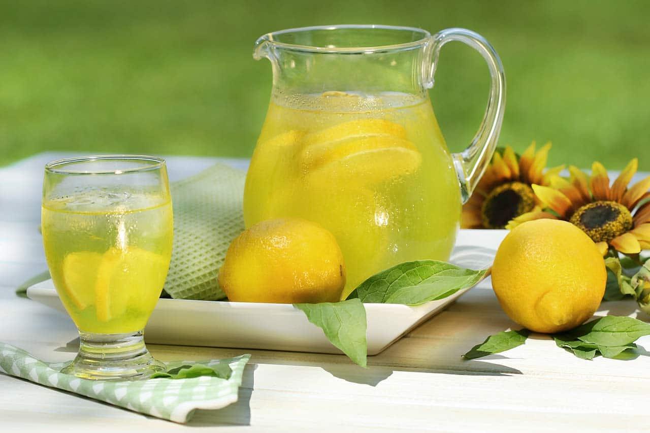 Gartenparty Ideen, Limonade