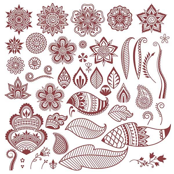 Henna Motive, Fortgeschrittene