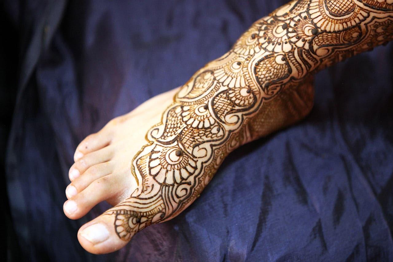 Henna Tattoo, Einwirkzeit