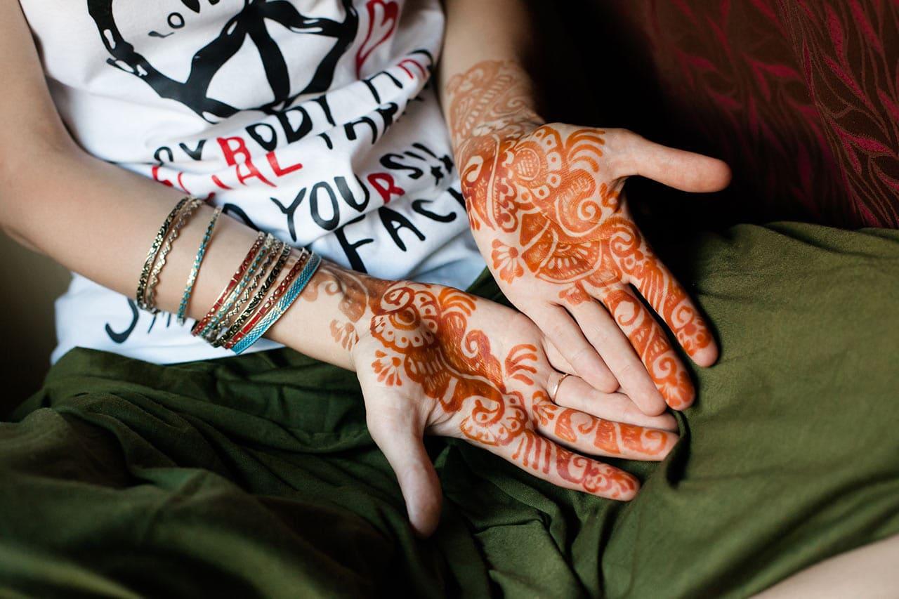 Henna Tattoo, Farbe, Farbstoff