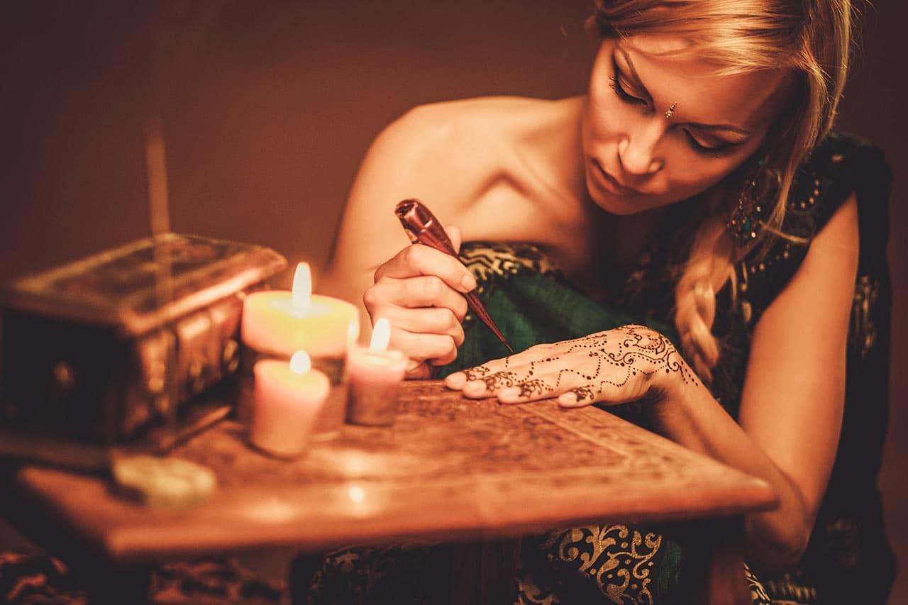Henna Tattoo, Ursprung, Bedeutung