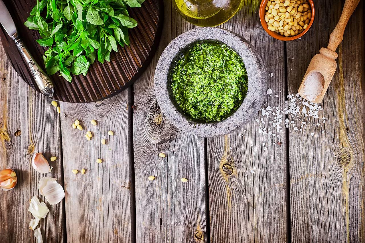 Grünes Pesto, Rotes Pesto, haltbar machen, einfrieren, selber machen