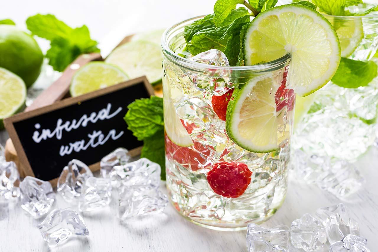Infused Water Rezepte, Wasser mit Geschmack selber machen