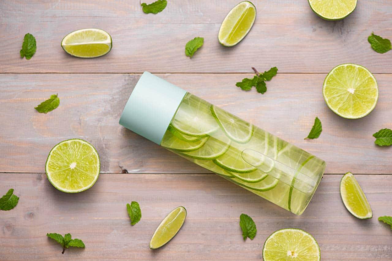 limettenwasser rezept