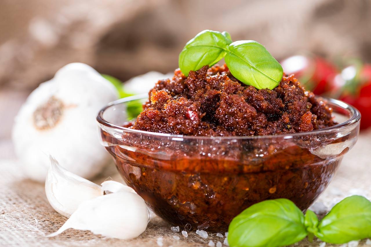 Rotes-Pesto-Rezept, Pesto Rosso selber machen