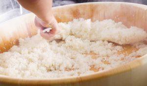 Maki Sushi selber machen, Sushi Reis Rezept