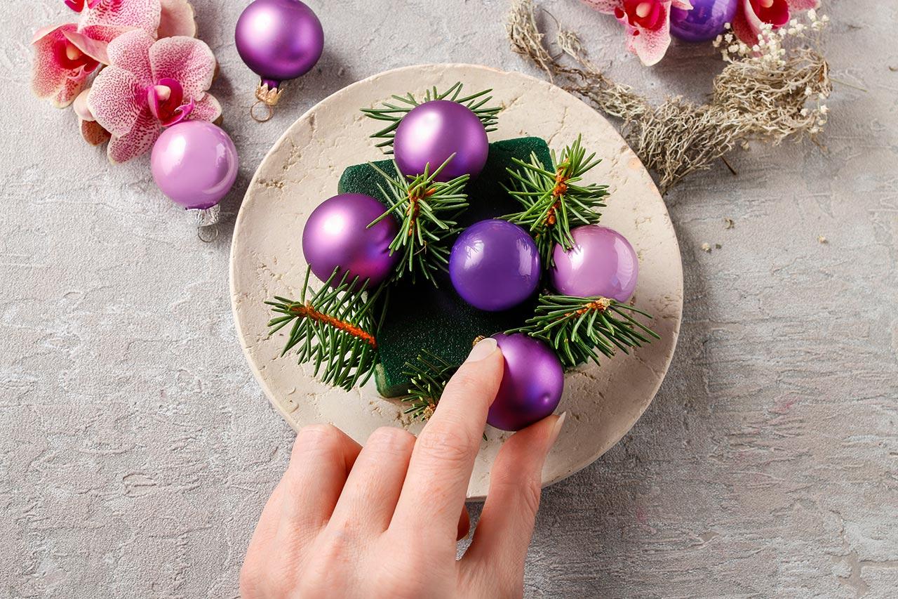 Deko Weihnachtstage