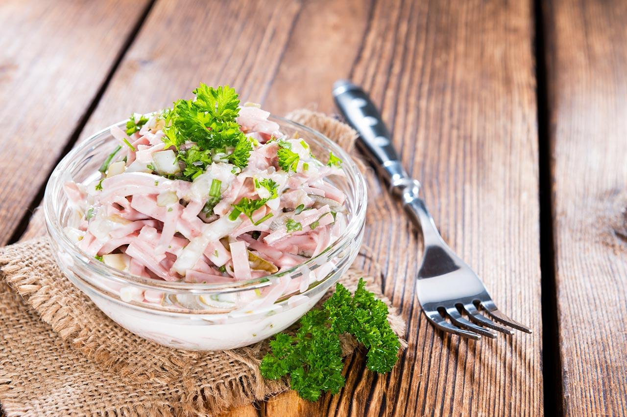 Rezept Fleischsalat wie vom Metzger