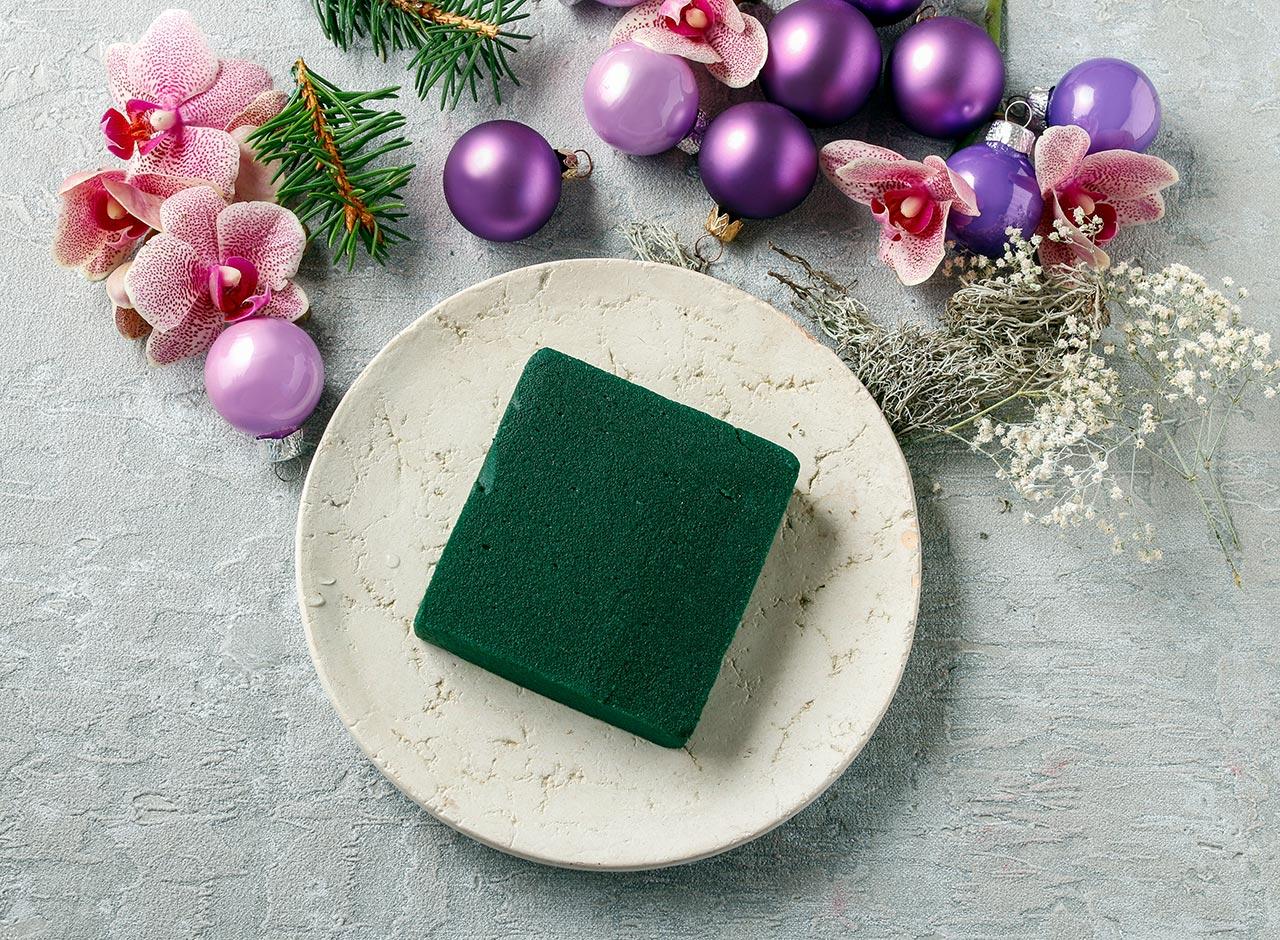 Weihnachtliche Tischdeko Anleitung