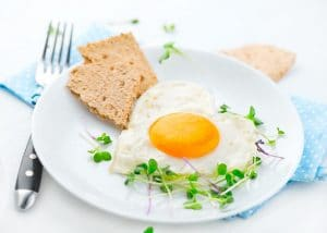 Herzige Frühstücksidee