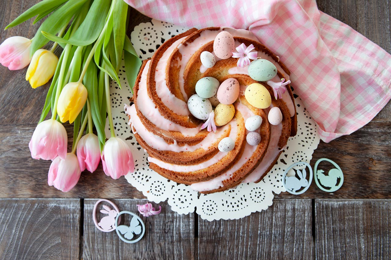 Kuchenidee Ostern, Gugelhupf