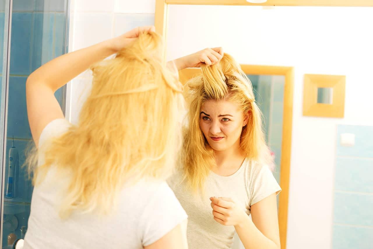 Fettige Haare, Ursachen, Soforthilfe