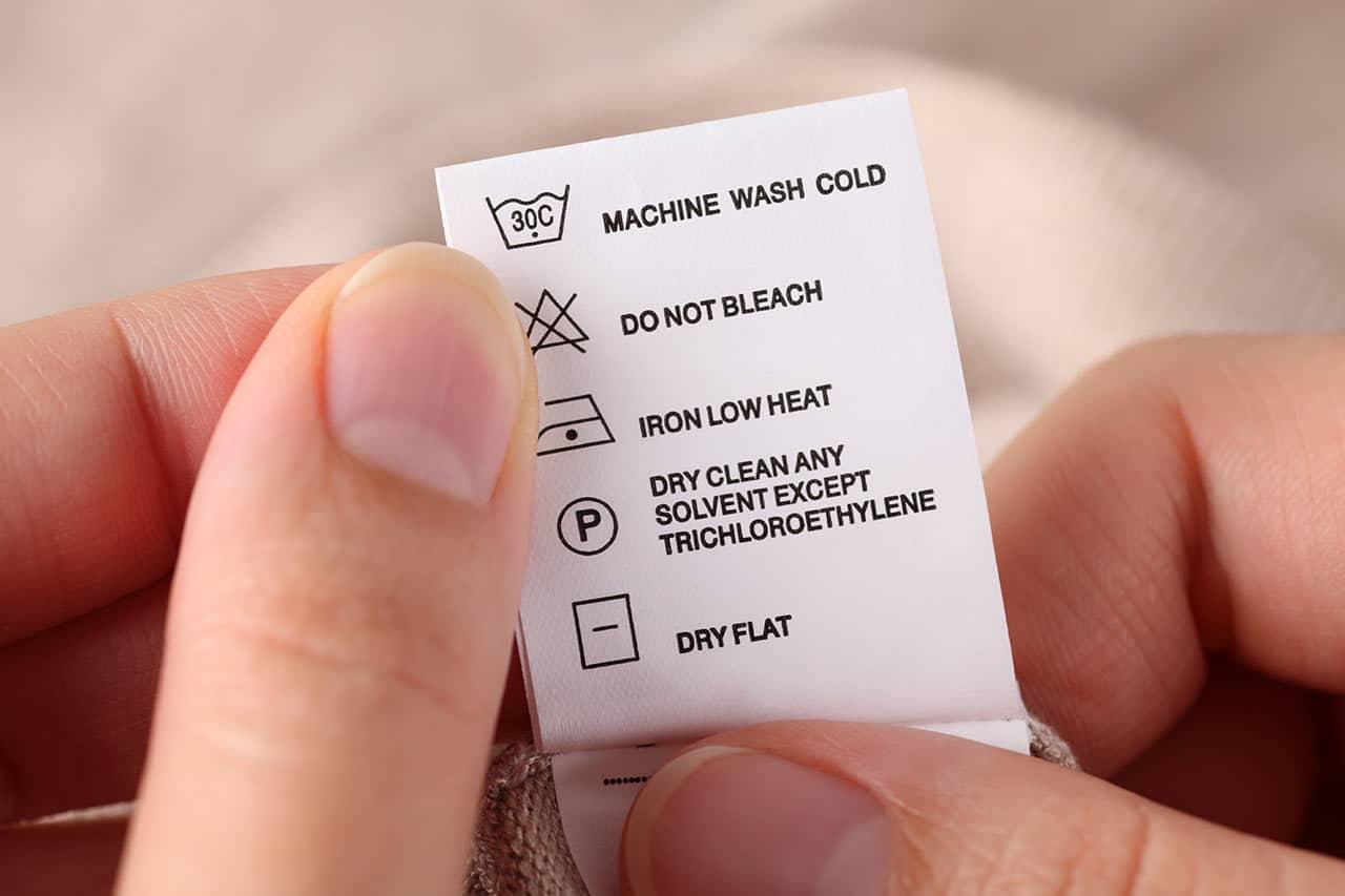Textilpflegesymbole, Waschsymbole