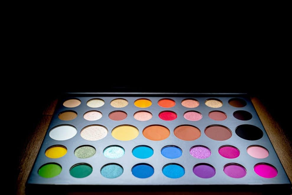 Palette James Charlex x Morphe Test