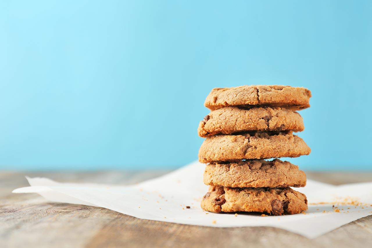 cookies vegan mit schokolade