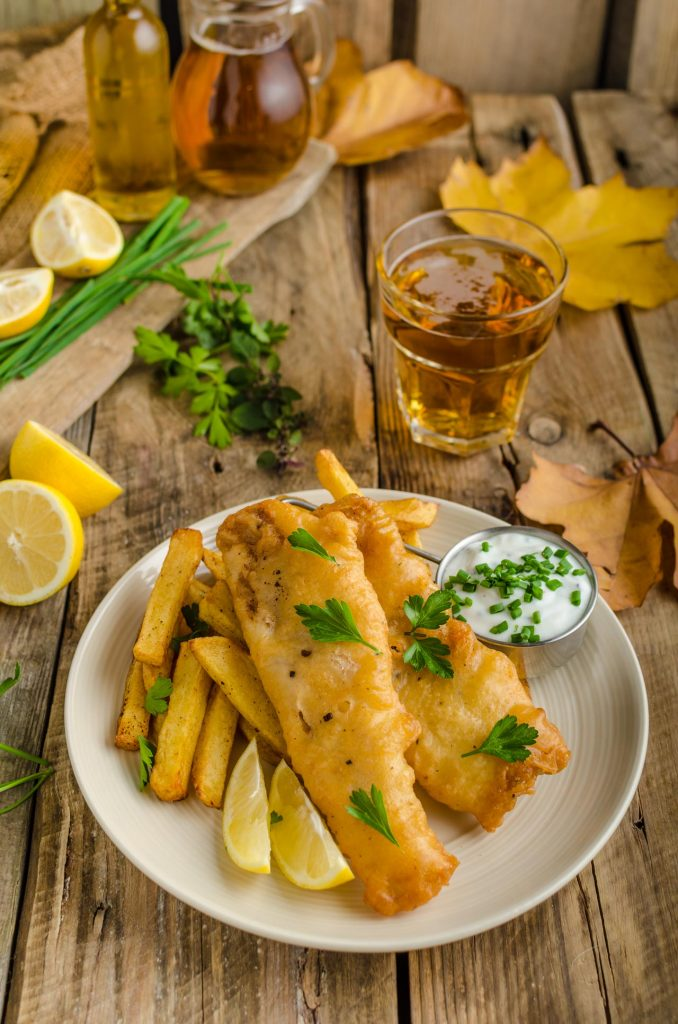 fish and chips rezept original