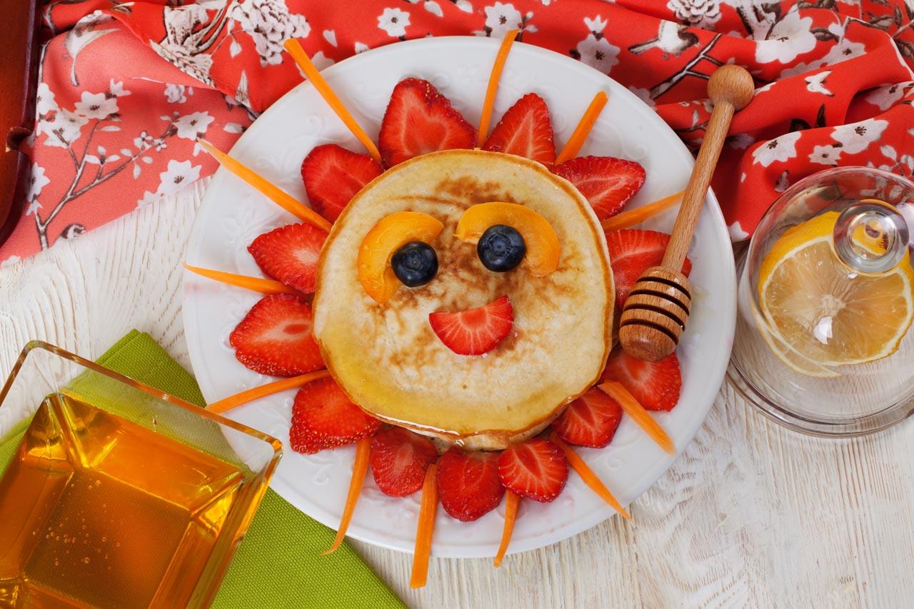 fruehstueck idee sonnenpancake