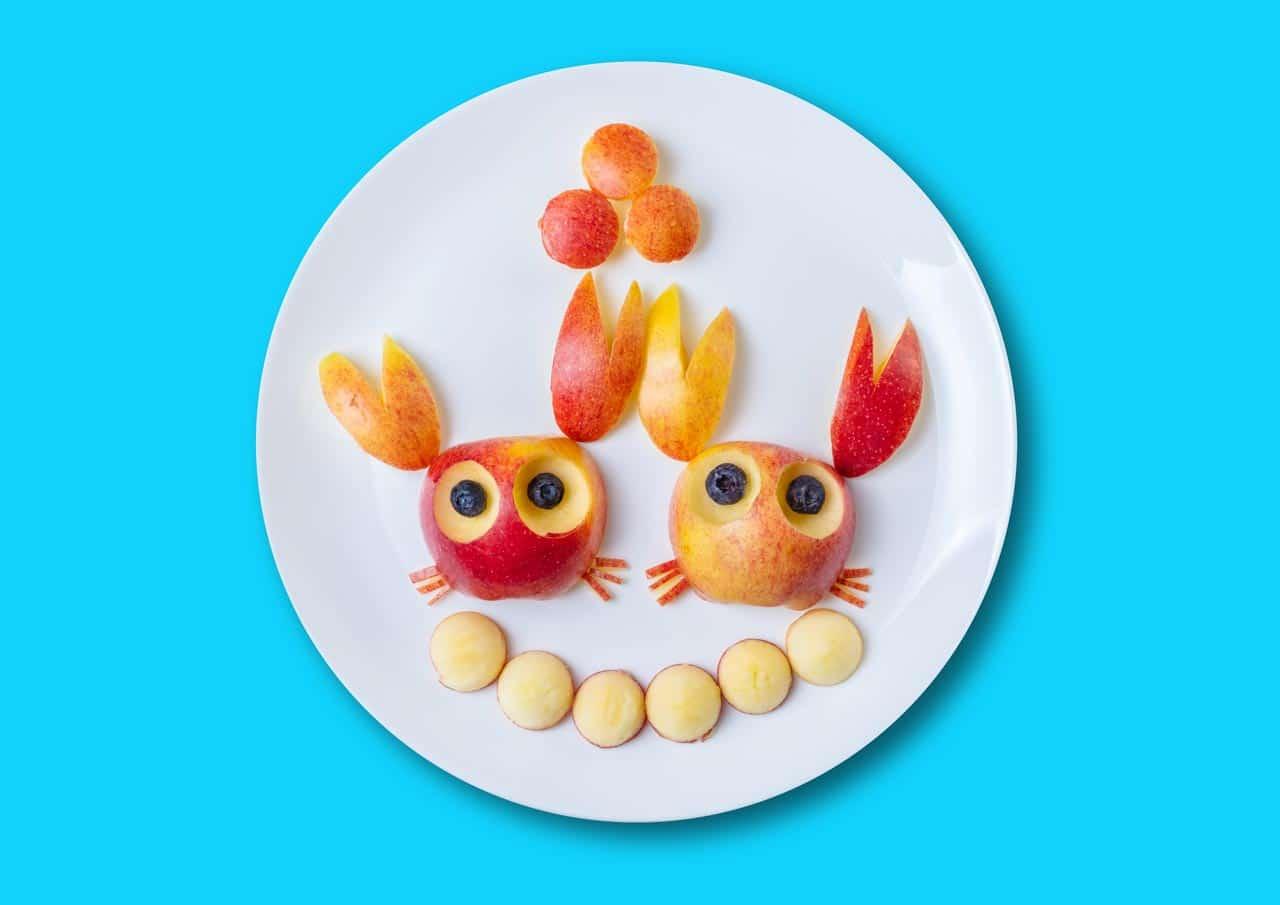 fruehstueck kinder crabs