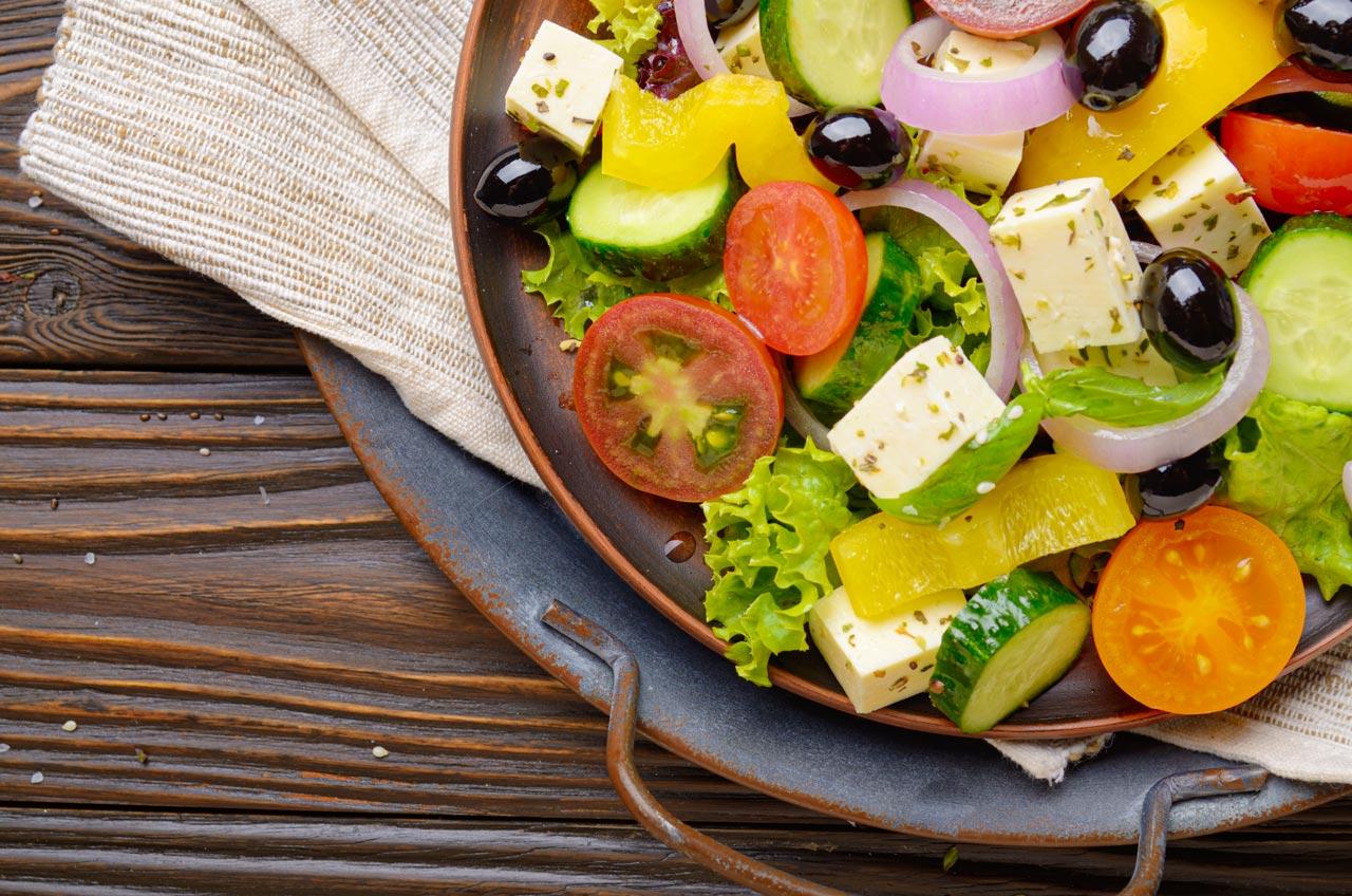 rezept griechischer salat