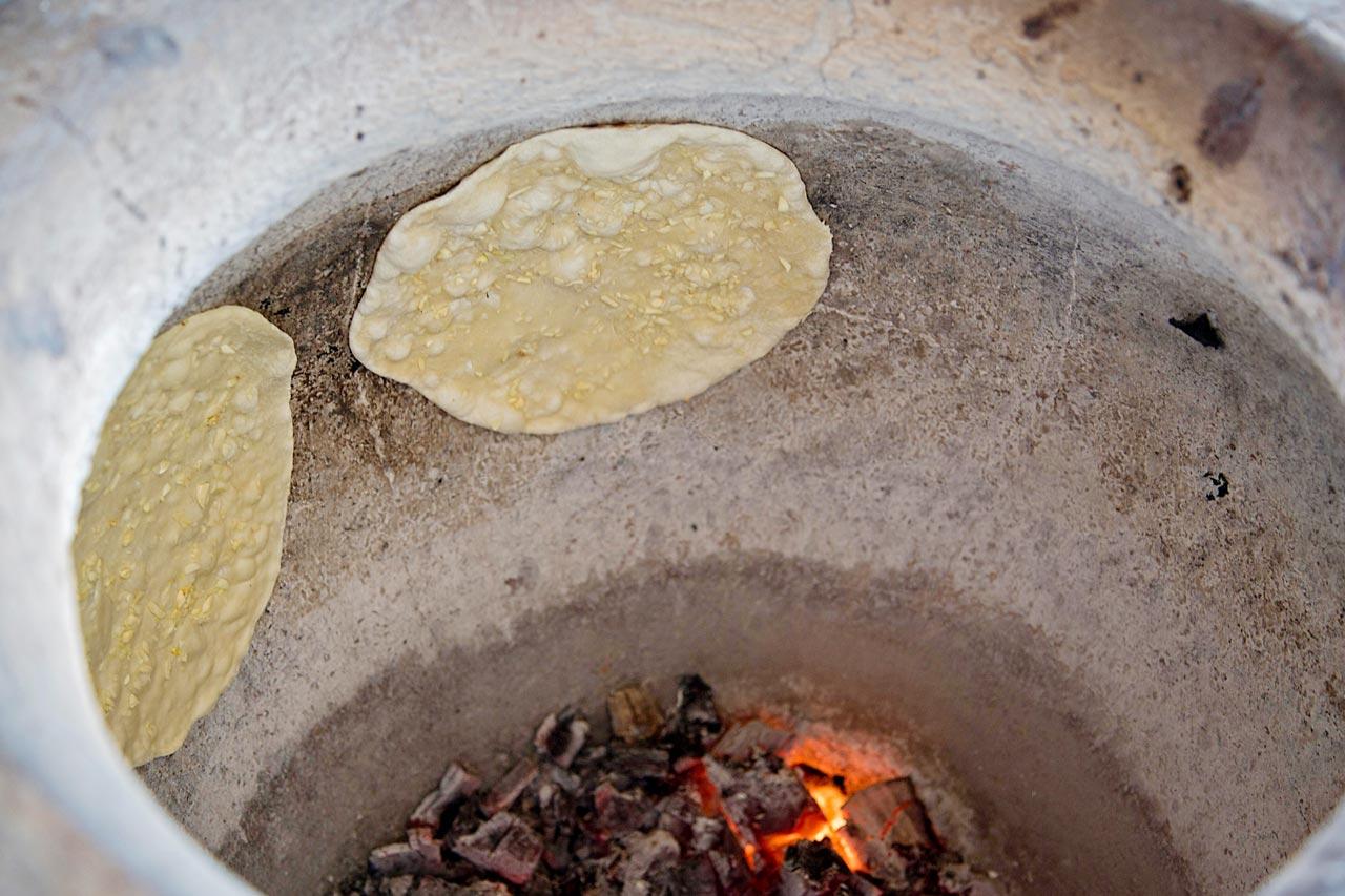 Tandur Ofen Indien Naan