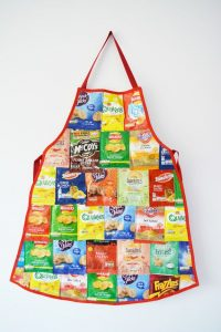 Chip Bag Apron