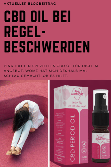 Pink Comfort CBD Öl ist rein natürlich, vegan und ohne Tierversuche getestet