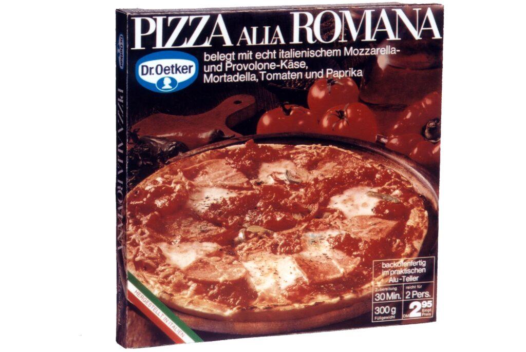 Pizza Dr Oetker1970